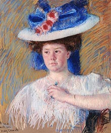 Portrait of Helen Sears, 1907 by Cassatt | Giclée Paper Print