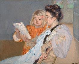 Cassatt | The Reading Lesson, c.1901 | Giclée Canvas Print