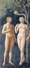 The Temptation of Adam and Eve, c.1427 by Masolino da Panicale | Giclée Canvas Print
