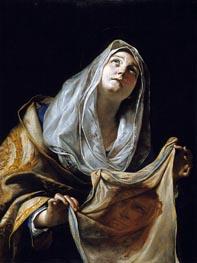 Mattia Preti | Saint Veronica with the Veil, c.1655/60 | Giclée Canvas Print