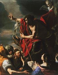 Mattia Preti | St. John the Baptist Preaching | Giclée Canvas Print