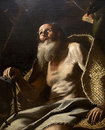 Mattia Preti | St. Paul the Hermit | Giclée Canvas Print