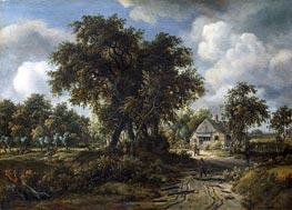 Meindert Hobbema | A Woody Landscape | Giclée Canvas Print