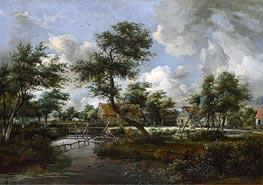 Meindert Hobbema   The Watermills at Singraven near Denekamp   Giclée Canvas Print