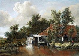 Meindert Hobbema | A Watermill, 1668 | Giclée Canvas Print