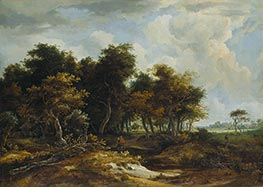 Meindert Hobbema | Entrance to the Forest | Giclée Canvas Print