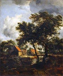 Meindert Hobbema | The Water Mill, 1692 | Giclée Canvas Print