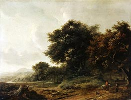 Meindert Hobbema | Landscape, undated | Giclée Canvas Print
