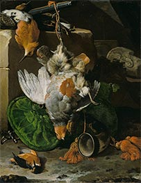 Melchior d'Hondecoeter | Dead Birds, m.1660s | Giclée Canvas Print