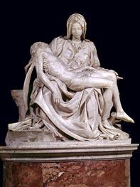Michelangelo | Pieta, 1498/99 | Giclée Canvas Print
