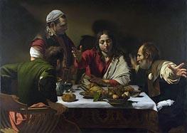 Caravaggio | The Supper at Emmaus | Giclée Canvas Print