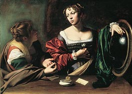Caravaggio | The Conversion of Mary Magdalen | Giclée Canvas Print