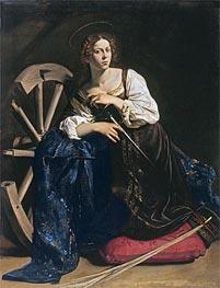 Caravaggio | Saint Catherine of Alexandria | Giclée Canvas Print
