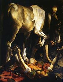 Caravaggio | The Conversion of Saint Paul, c.1600/01 by | Giclée Canvas Print