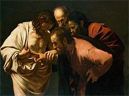 Caravaggio | The Incredulity of Saint Thomas (Doubting Thomas), c.1602/03 by | Giclée Canvas Print