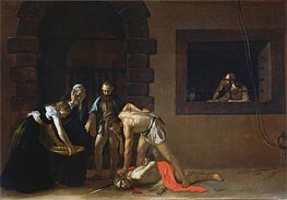 Caravaggio | The Decapitation of St. John the Baptist, 1608 | Giclée Canvas Print