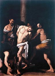 Caravaggio | Flagellation, 1607 | Giclée Canvas Print