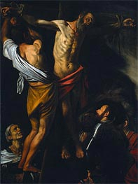 Caravaggio | The Crucifixion of Saint Andrew, c.1606/07 | Giclée Canvas Print