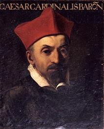 Caravaggio | Portrait of Cardinal Cesare Baronio, c.1602/03 | Giclée Canvas Print
