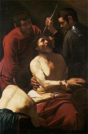 Caravaggio | Christ Crowning with Thorns, c.1602/05 | Giclée Canvas Print