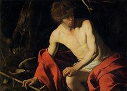 Caravaggio | Saintt John the Baptist, c.1605/06 | Giclée Canvas Print