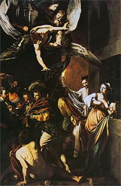 Caravaggio | The Seven Acts of Mercy, 1606 | Giclée Canvas Print