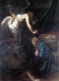 Caravaggio | The Annunciation, c.1608/10 | Giclée Canvas Print
