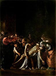 Caravaggio | Resurrection of Lazarus, c.1608/09 | Giclée Canvas Print