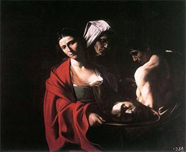 Caravaggio | Salome with the Head of Saint John the Baptist, c.1608/10 | Giclée Canvas Print