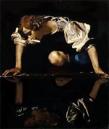 Caravaggio | Narcissus, c.1608/10 | Giclée Canvas Print