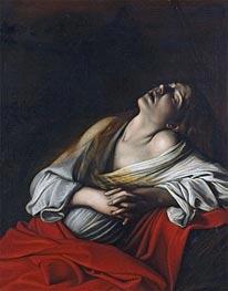 Caravaggio | Mary Magdalen in Ecstasy, 1610 | Giclée Canvas Print