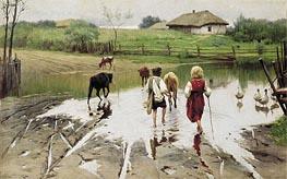 Mykola Pymonenko | Ford, 1901 | Giclée Canvas Print