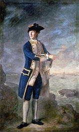 Nathaniel Hone | Captain the Hon. Robert Boyle Walsingham M.P., 1760 | Giclée Canvas Print