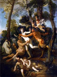 Pan and Syrinx, c.1637/38 by Nicolas Poussin | Giclée Canvas Print