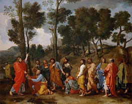 Nicolas Poussin | Ordination | Giclée Canvas Print