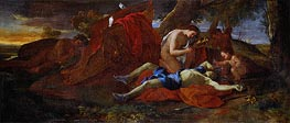 Venus Weeping over Adonis, c.1625 by Nicolas Poussin | Giclée Canvas Print