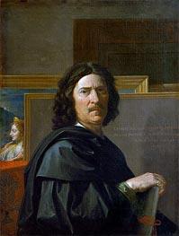 Self Portrait, 1650 by Nicolas Poussin | Giclée Canvas Print
