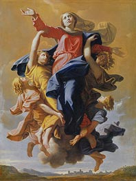 Nicolas Poussin | Assumption of the Virgin | Giclée Canvas Print