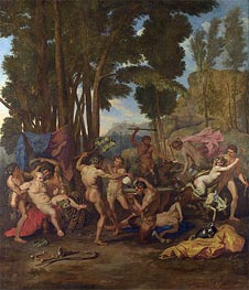 Nicolas Poussin | The Triumph of Silenus, c.1637 | Giclée Canvas Print