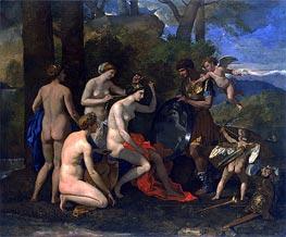 Nicolas Poussin | Mars and Venus, c.1633/34 | Giclée Canvas Print
