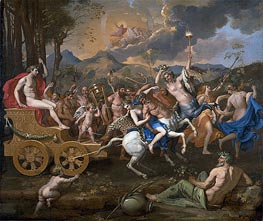 Nicolas Poussin | The Triumph of Bacchus, c.1635/36 | Giclée Canvas Print