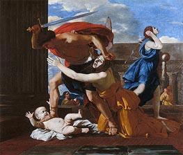 Nicolas Poussin | The Massacre of the Innocents, c.1625/26 | Giclée Canvas Print