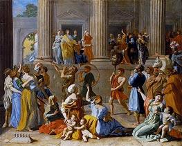 Nicolas Poussin | The Triumph of David, c.1628/31 | Giclée Canvas Print