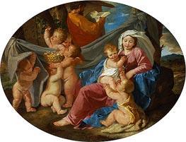 Nicolas Poussin | The Rest on the Flight into Egypt, c.1628/30 | Giclée Canvas Print