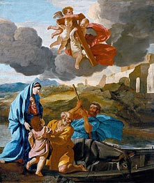 Nicolas Poussin | The Return of the Holy Family from Egypt, c.1628/38 | Giclée Canvas Print