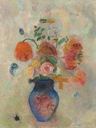 Large Vase with Flowers, c.1912 by Odilon Redon   Giclée Canvas Print