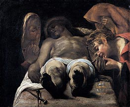 Orazio Borgianni | Lamentation over the Dead Christ (The Pieta), c.1615 | Giclée Canvas Print