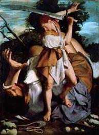 Orazio Gentileschi | David and Goliath, c.1605/07 | Giclée Canvas Print