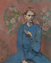 Picasso | Boy with a Pipe (Garcon a la Pipe), 1905 | Giclée Canvas Print