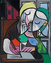 Writing Woman (Marie-Therese), 1934 by Picasso | Giclée Canvas Print